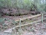 """""""Sophisicated"""" trail marker for Minnehaha Falls"""